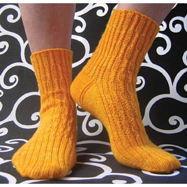 Shelton's Folly is a tribute to the wonderful lady who introduced my happy fingers to the world of fiber crafts. Even though she never knit a stitch in her life, as she was a dedicated crocheter, she inspired my adventures in knitting which led to my eventual obsession with socks. These socks are available in three sizes - small, medium, and large - for ladies, but could easily be adapted for other sizes by adding or subtracting the six stitch repeat as needed. Pattern is written and…