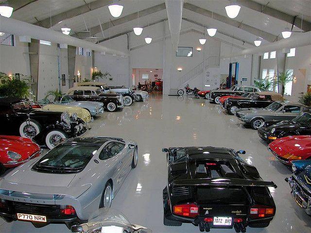 Mega Garage And Car Collection Garage Pictures Dream Garage Big Garage