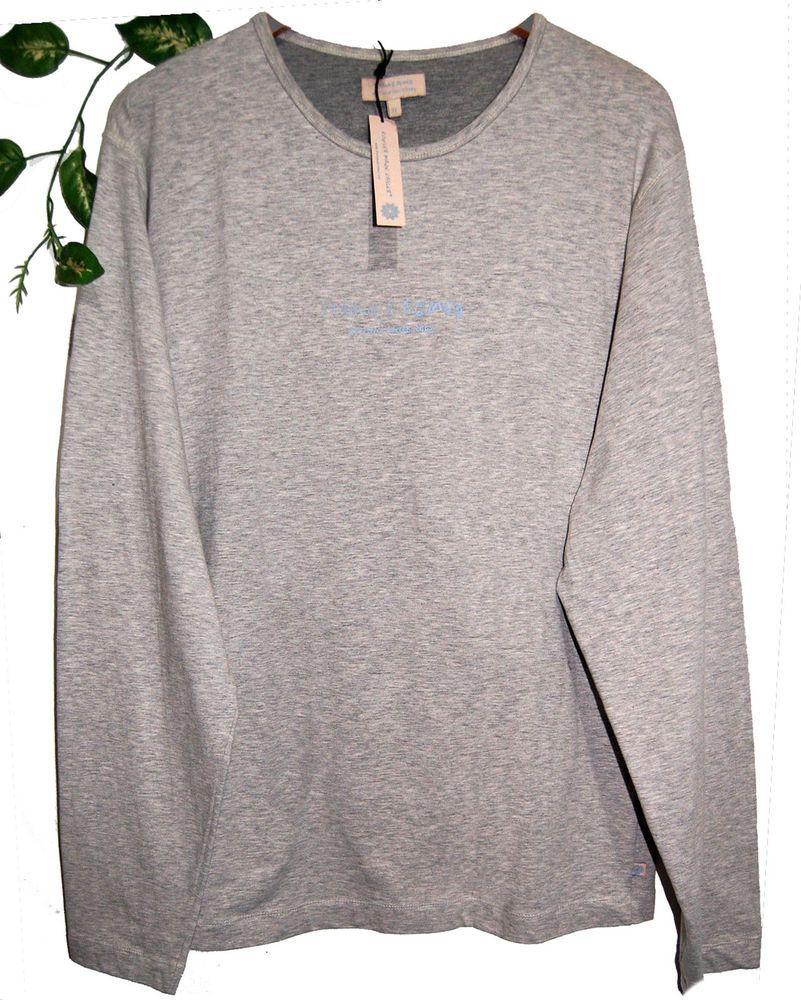 Starla & Romeo Ash Gray Soft Cotton Sweater Men's Crewneck Shirt ...