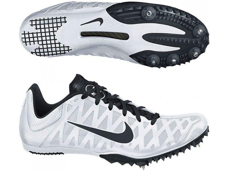 Nike Zoom Maxcat 4 Running Spikes White