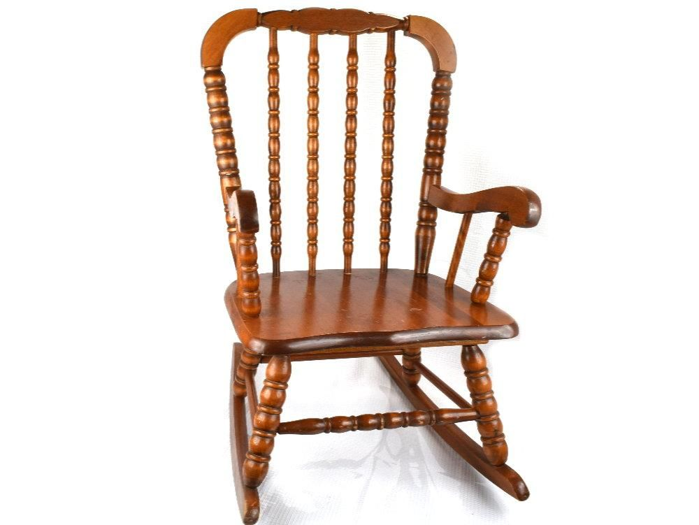 Surprising Vintage Original Jenny Lind Childs Rocking Chair Mid Unemploymentrelief Wooden Chair Designs For Living Room Unemploymentrelieforg