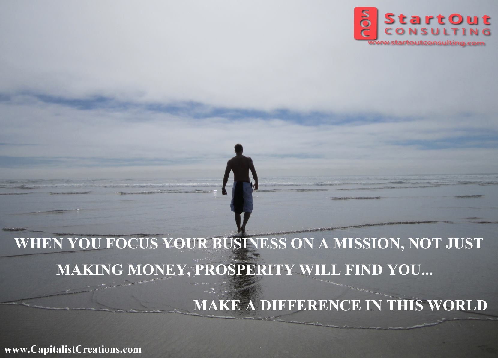 Business is not just like money