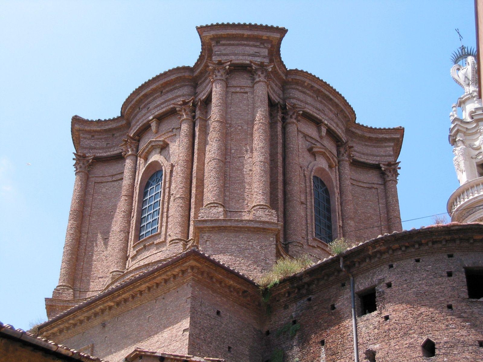 Borromini Sant Andrea Delle Fratte Roma Exterior De La Cúpula Sant Andrea Barcelona Cathedral Rome