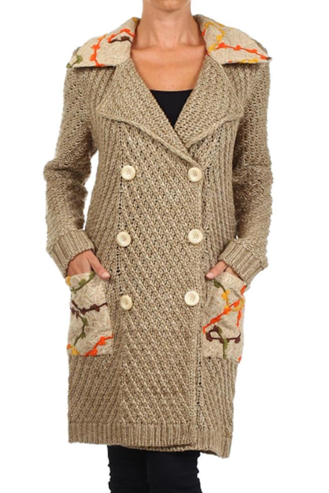 Long Sweater Coat  - main