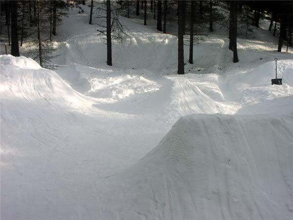 How to Build a Backyard Snowboard Park #stepbystep