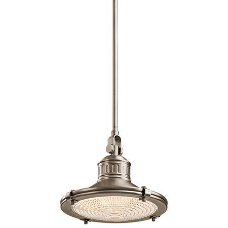 I pinned this kichler sayre pendant from the style study vintage barn event at joss and main
