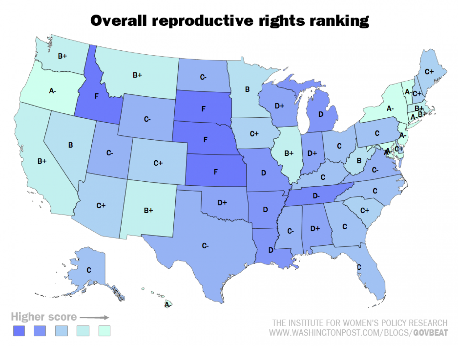 The best states for women in America, in 11 maps and charts   Chart,  Ethical issues and Gender inequality