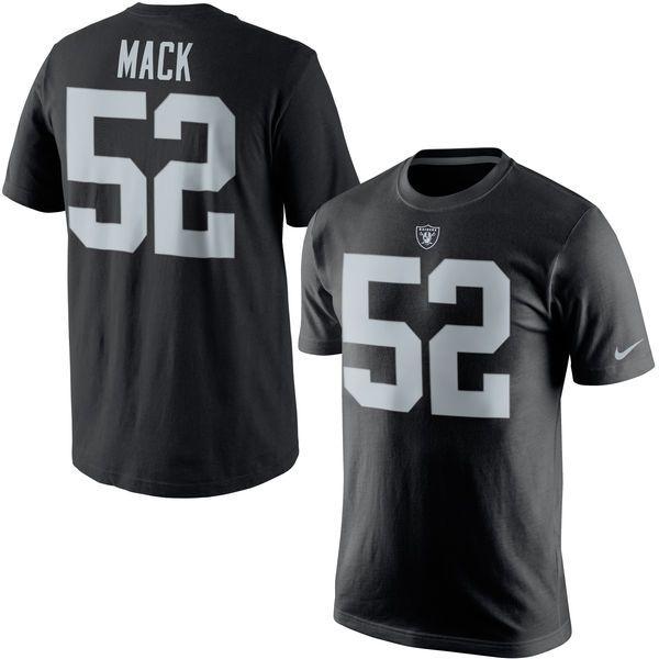 Khalil Mack Oakland Raiders Nike Player Pride Name   Number T-Shirt - Black  1 9e14f6ab9