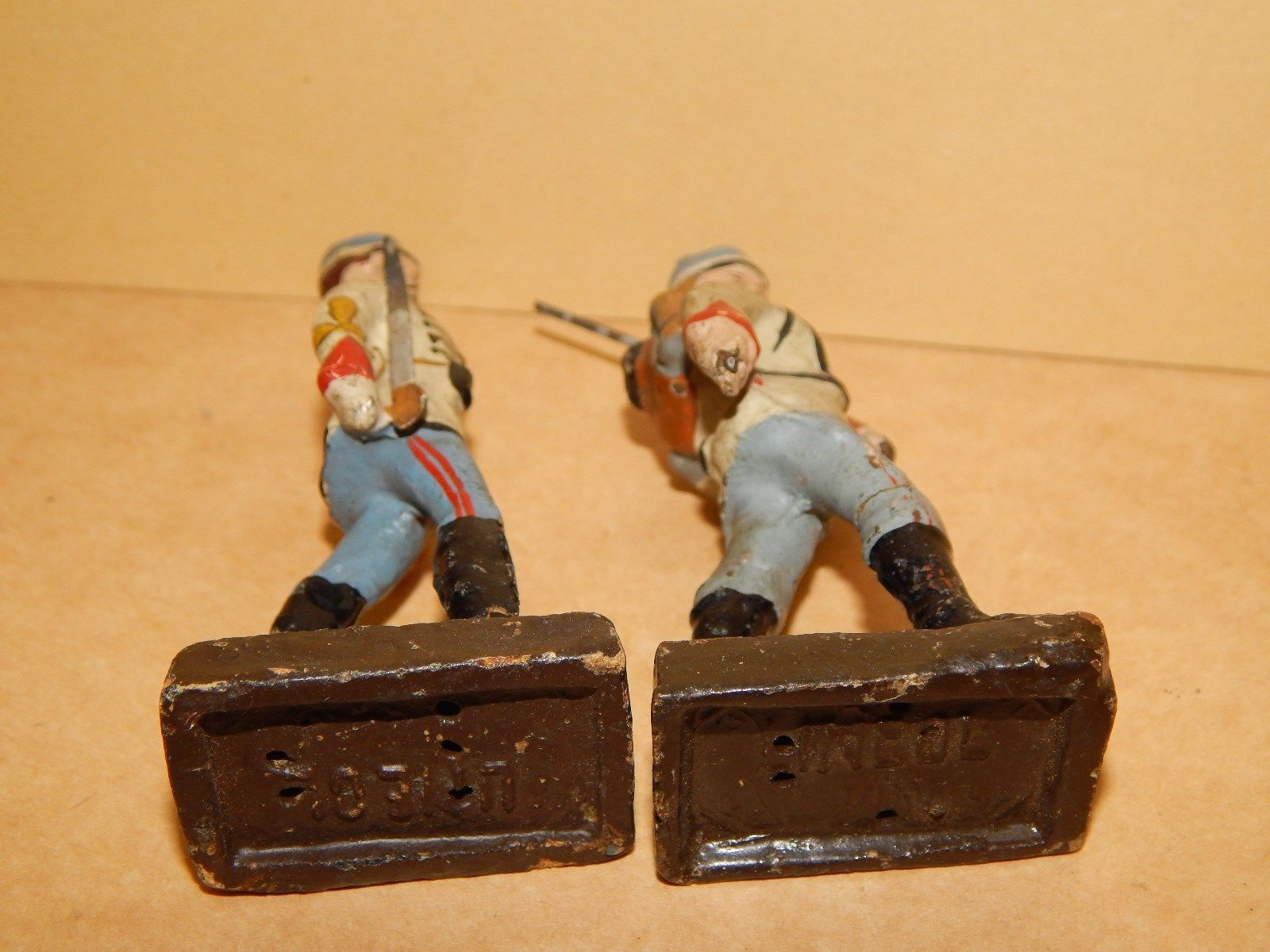 Antike Soldaten um 1916 8.5 cm Lineol Argentinier WK 1 WW 1 super Zustand | eBay