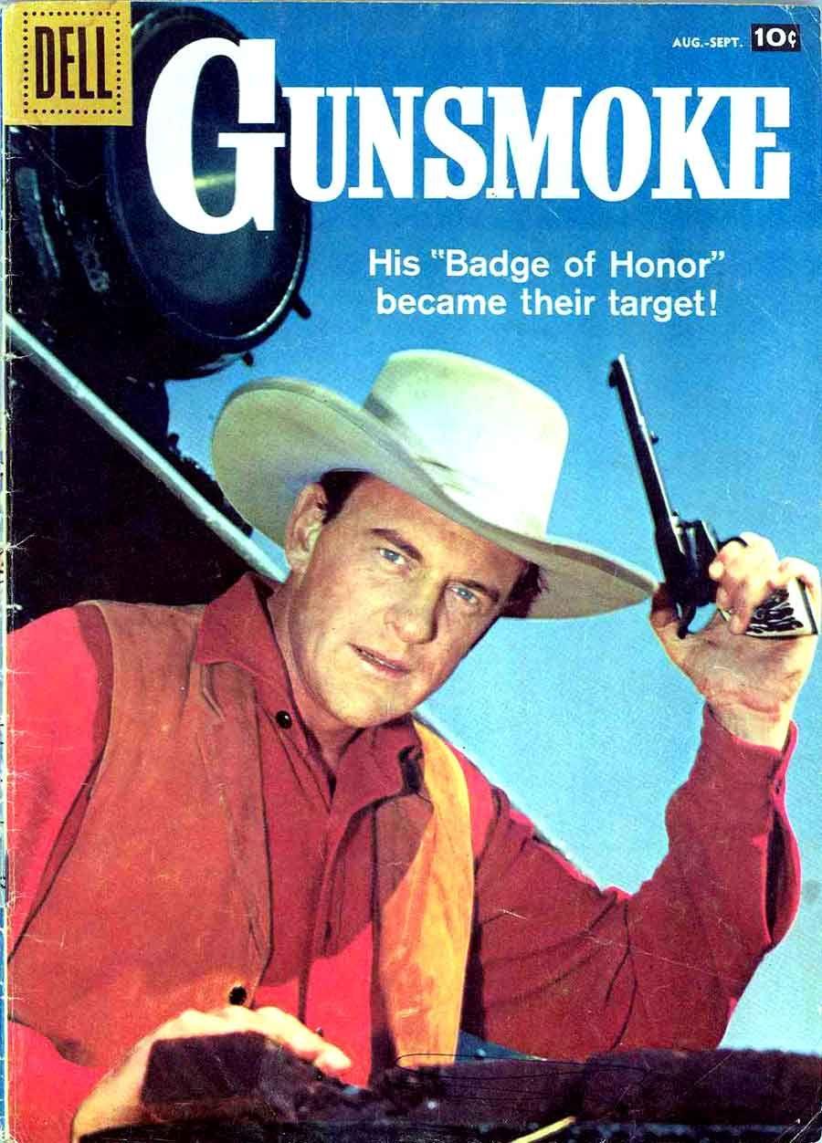 Art And Artists 1950s 1960s 1970s 1980s Gunsmoke V2 10 Al Williamson Art Dell Comic Western Comics Comic Books