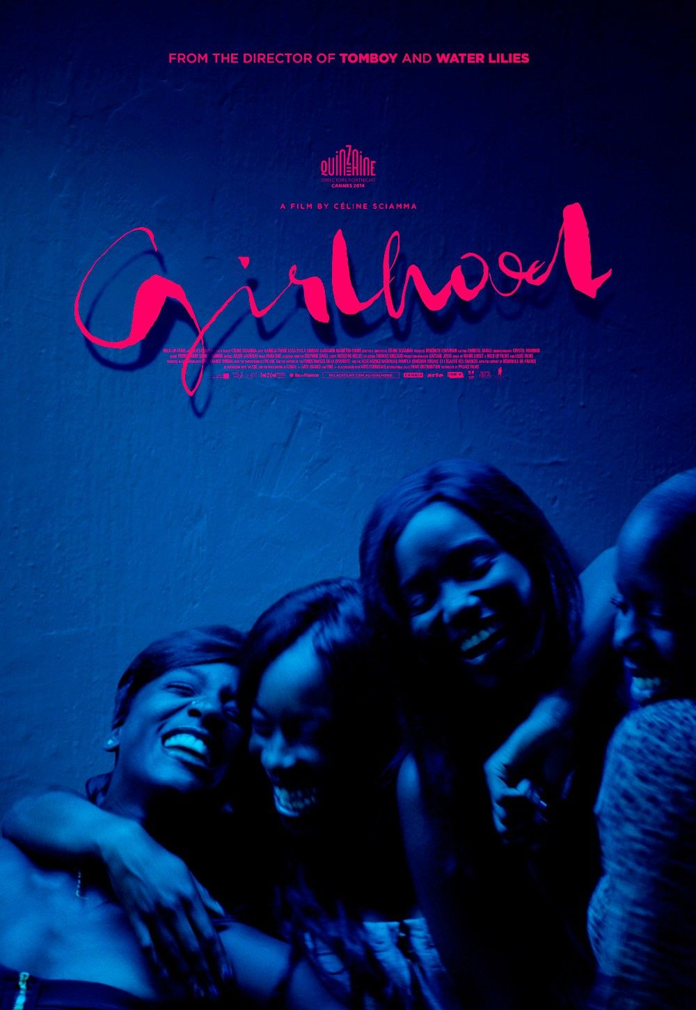 """Girlhood"" movie poster, one of our favorite movies that explores female relationships!"