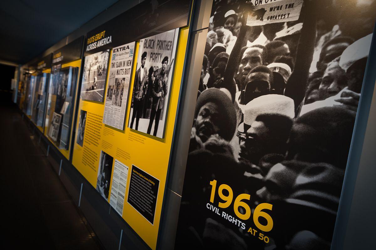 1966 Civil Rights at 50 on Behance Civil rights, Civil