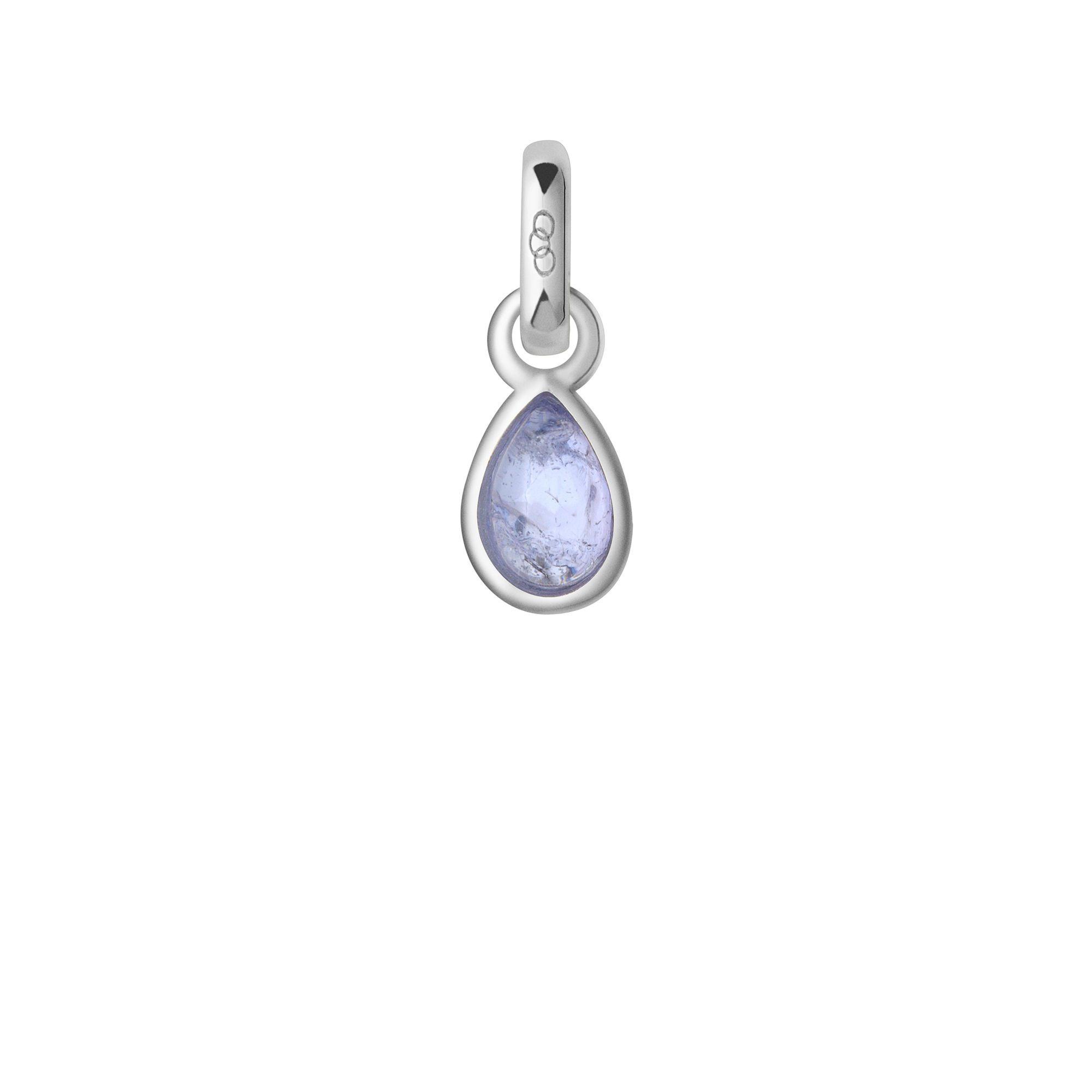 01805d2d0ac8 Tanzanite   Sterling Silver December Mini Birthstone Charm