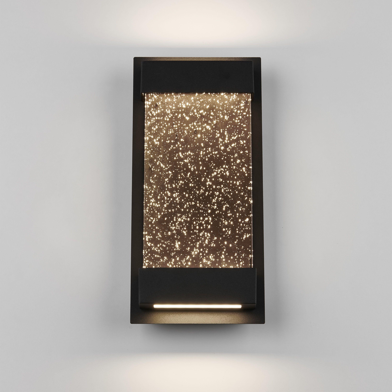 Artika Essence Glow Box Integrated Led Outdoor Wall Light Wall Mount Lantern Bubble Glass Outdoor Wall Lighting