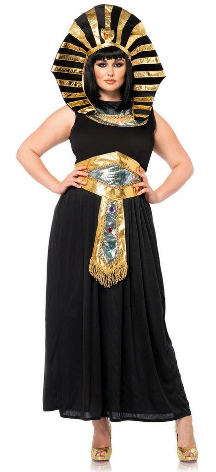 Plus Size Women's Egyptian Queen Tut Costume - Candy Apple ...