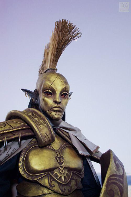 Photo cosplay the elder scrolls Russia morrowind TES Ordinator