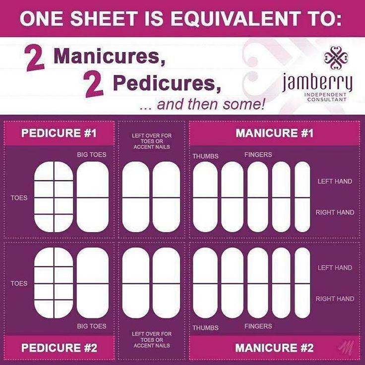 Jamberry Sheet