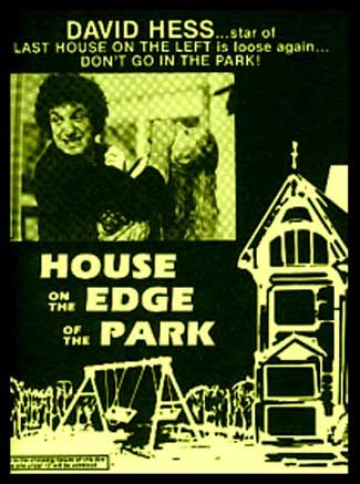 house on the edge of the park
