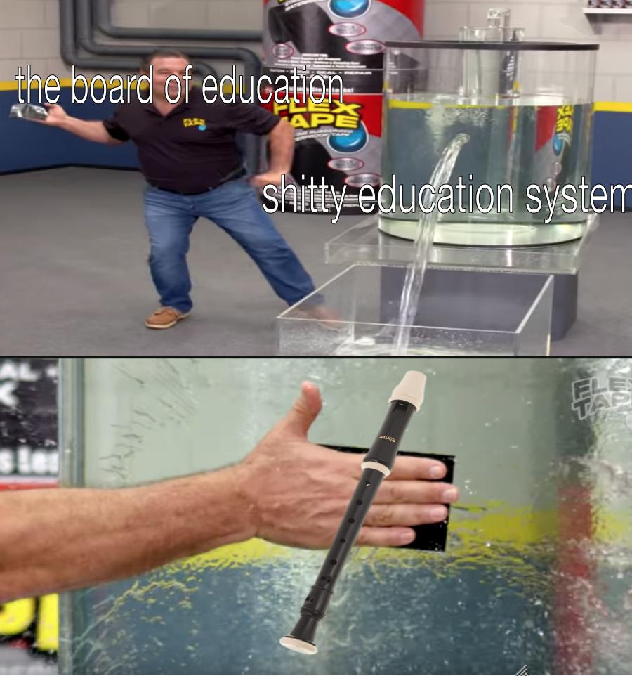 Duct Tape Meme Water