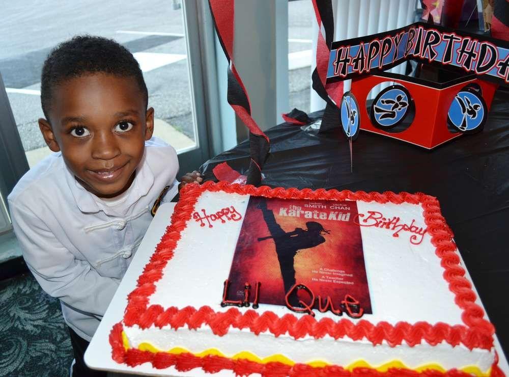 Karate Kid Birthday Party Ideas Birthday party ideas Birthdays