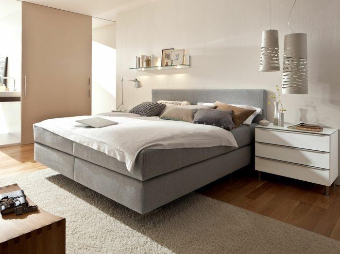 nice Schlafzimmer Boxspringbetten Betten aus Massivholz Hair
