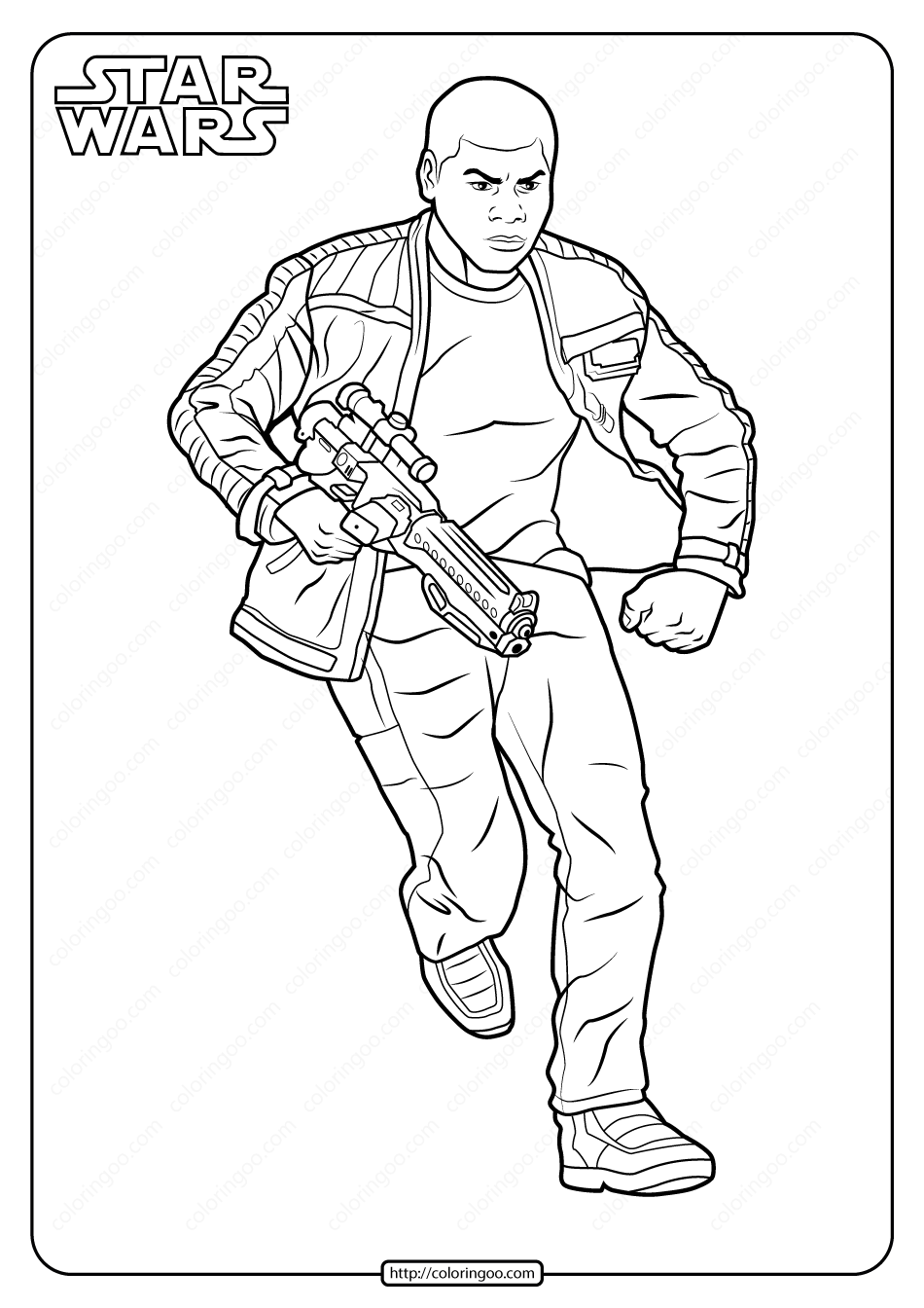 Printable Star Wars Finn Coloring Pages Star Wars Coloring Book Star Wars Colors Finn Star Wars