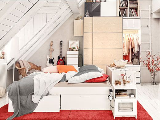 brimnes bettgestell mit schubladen 25 juli 2014 pinterest ikea. Black Bedroom Furniture Sets. Home Design Ideas