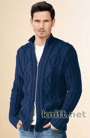 На Молнии, Knitting, For Men,