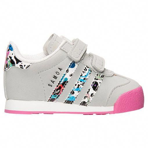 88a8715dff24 Girls  Toddler adidas Samoa Casual Shoes - S85638 GPK