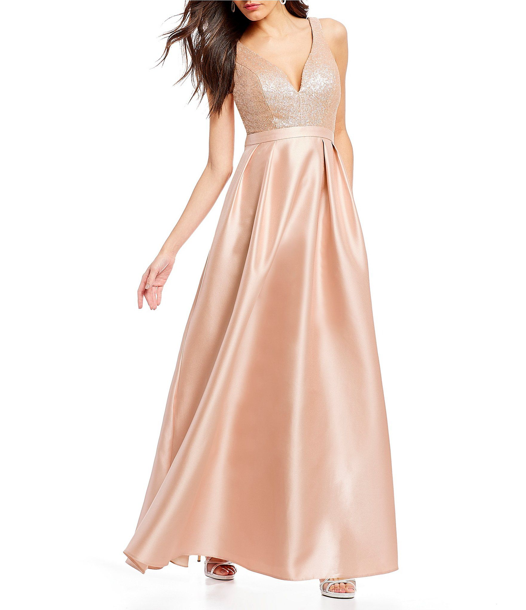 Ignite Evenings Sequin Bodice Ball Gown #Dillards | sweet 16 ...