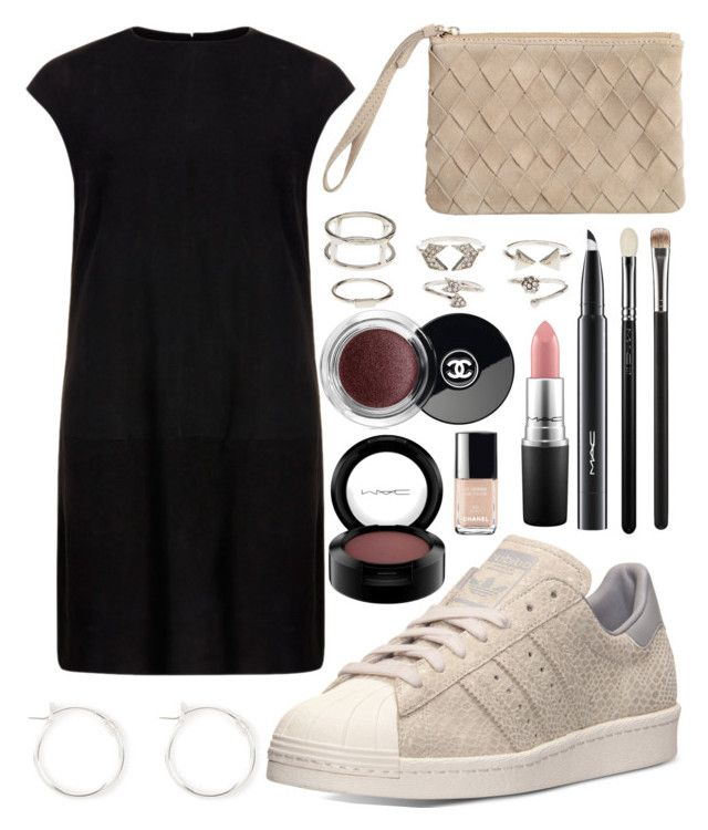 """Untitled #604"" by daimy-style ❤ liked on Polyvore featuring MuuBaa, adidas, Charlotte Russe, Chanel and MAC Cosmetics"