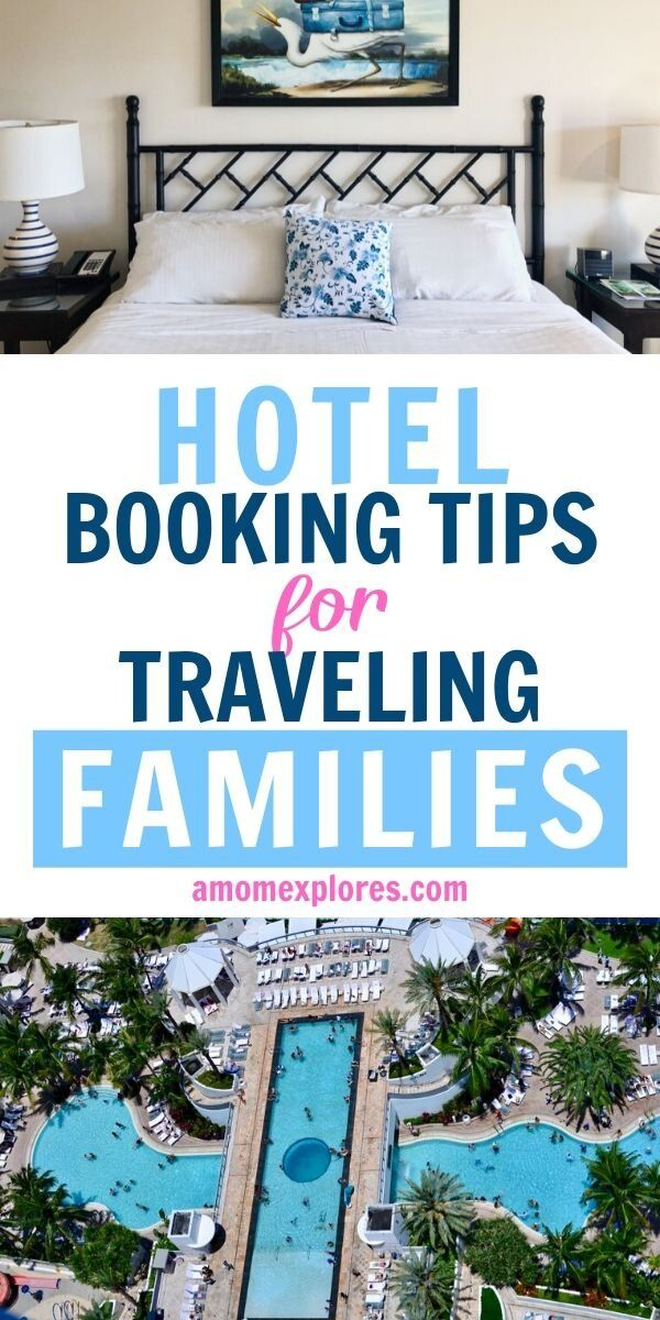 How to find the best hotel deals when you're traveling with kids. Use these 20 tips to book the perfect hotel room your whole family with love. Save money on hotels and enjoy your stay while traveling with kids!