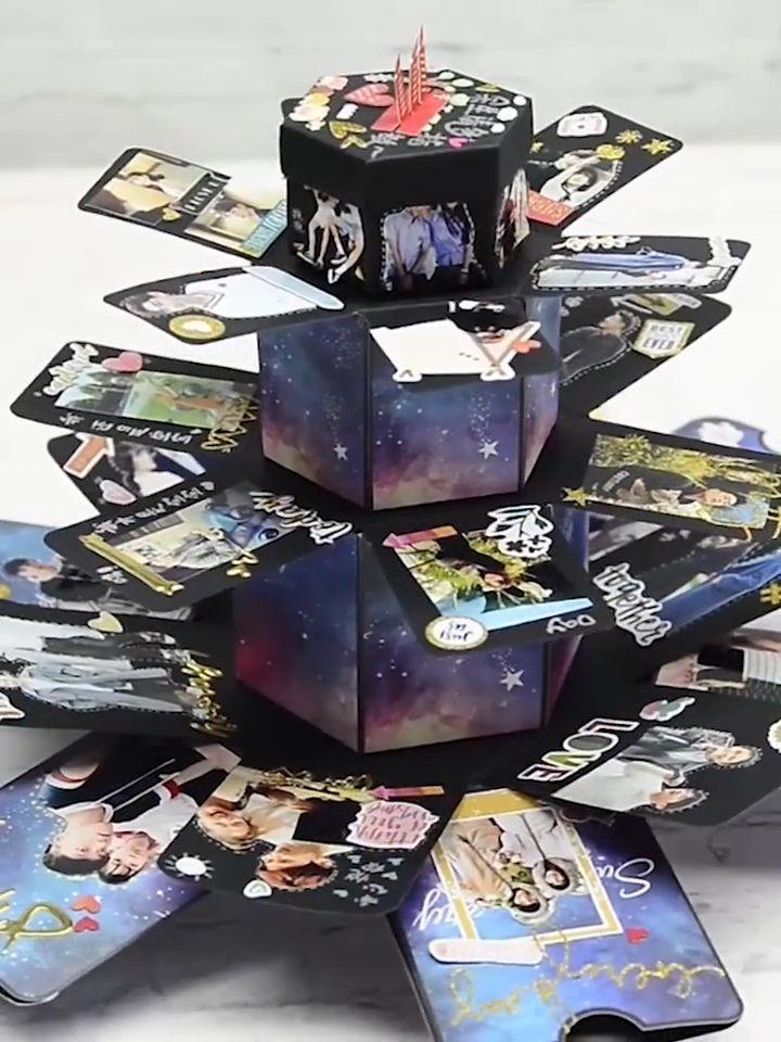 Anpassbare Explosion Geschenkbox - #Anpassbare #Explosion #Geschenkbox