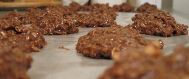 Mud Cookies - Aka - Chocolate No Bake Cookies using evaporated milk.