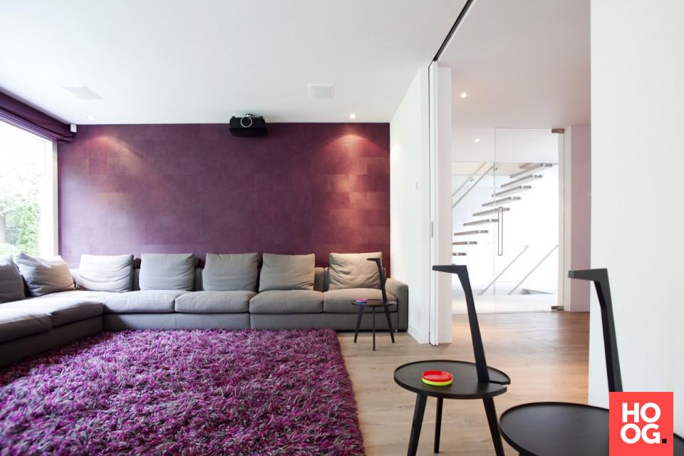 Woonideeën woonkamer   schilderen : kleur   Pinterest