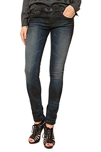 Mavi Damen Skinny Jeans Scarlett Indigo Urban Coated, Gr. W28/L32 , Blau  (Blau 18656)
