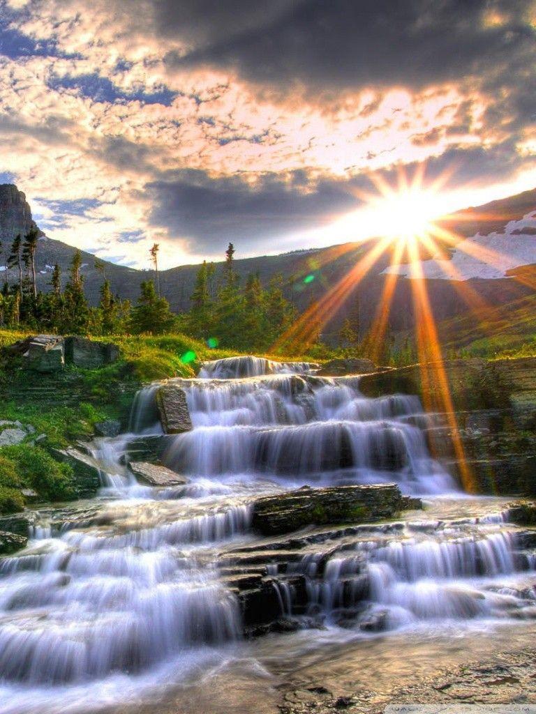 Love Symbol Hd Desktop Wallpaper High Definition Fullscreen Waterfall Wallpaper Waterfall Pictures Waterfall