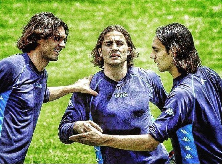 Araña dañar Oclusión  Maldini - Cannavaro - Nesta | Sepak bola