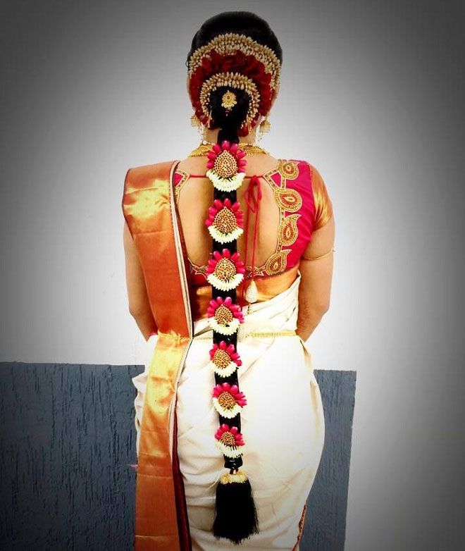 Indian Bridal Wedding Hairstyles: Best Indian Wedding Hairstyles For Brides 2016-2017