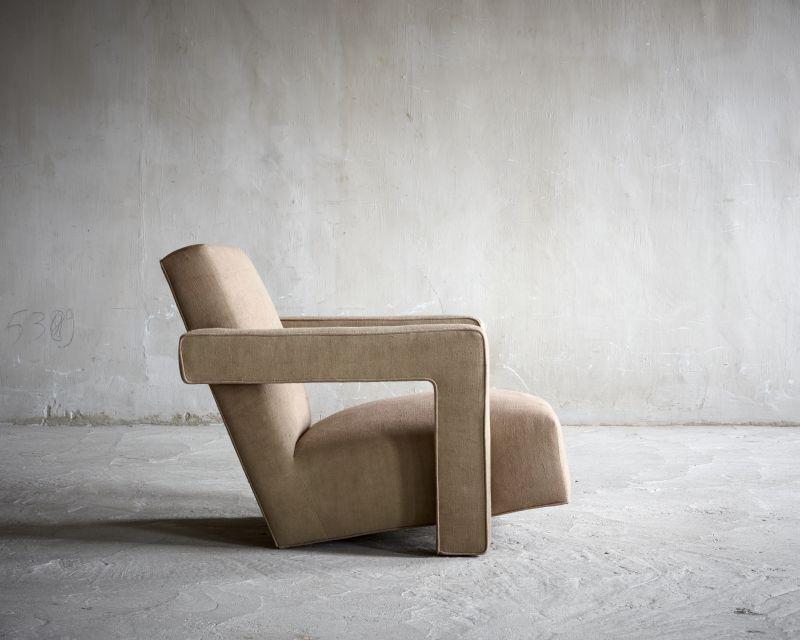 Stoel Gerrit Rietveld : Gerrit rietveld 30s 40s armchair ronde afwerking pinterest