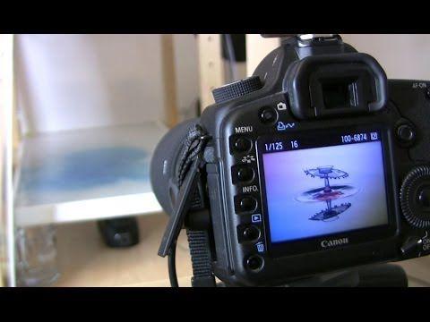Classic TaT's mit Spiegelung // Video Tutorial // Wassertropfen Highspeed Fotografie Teil 3 - YouTube