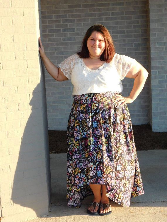 Fall Festival Skirt PDF Sewing Pattern Pleated Skirt high low hem ...
