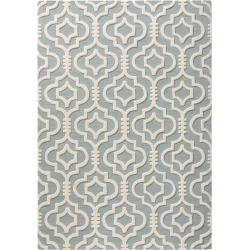Photo of benuta Naturals wool carpet Marrakech light blue 160×230 cm – natural fiber carpet made of wool