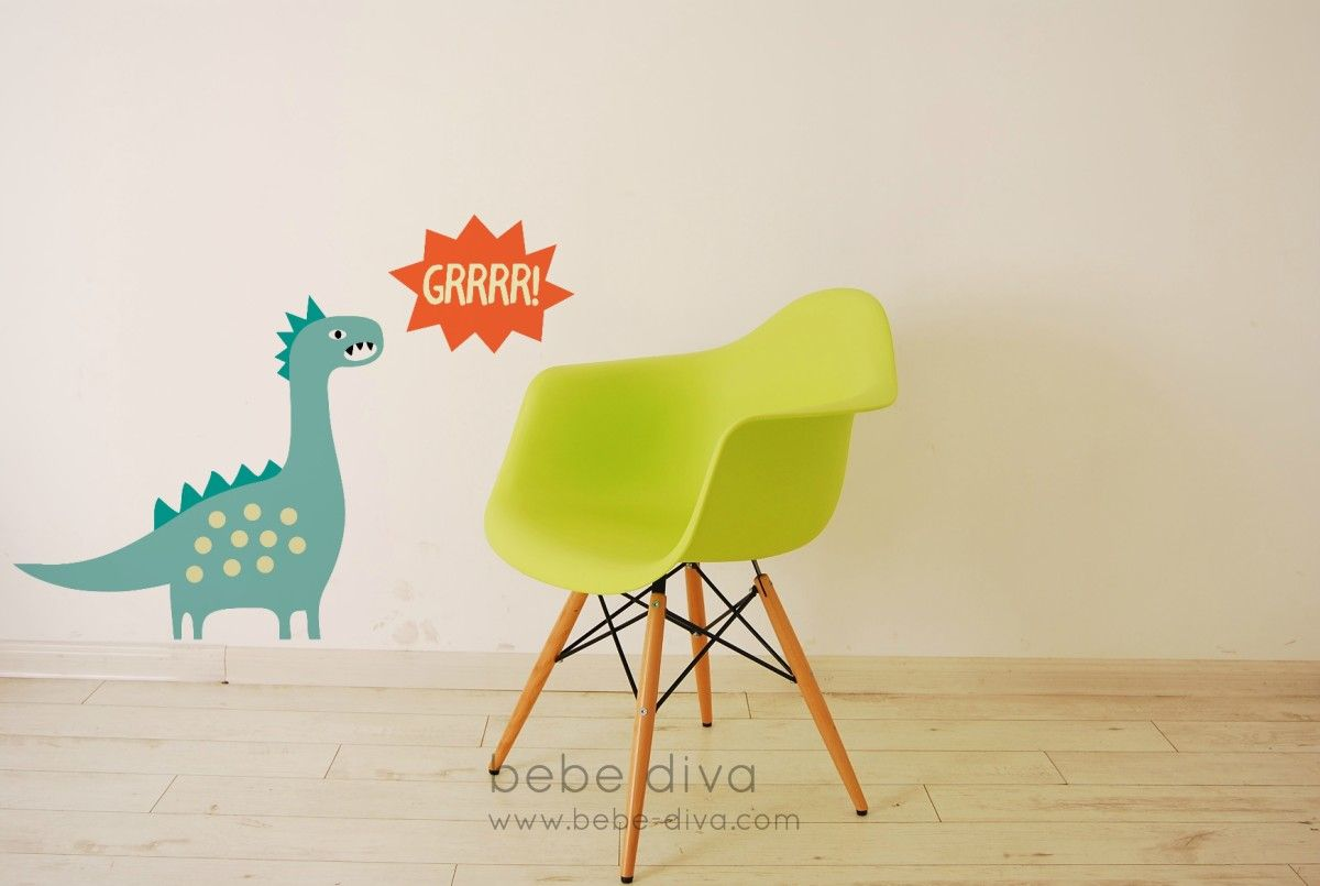 Dinosaur Wall Decal, Jungle Wall Decals, Nursery Wall Decals ...