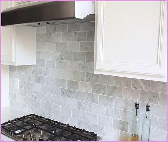 Marble Subway Tile Backsplash - Google Search