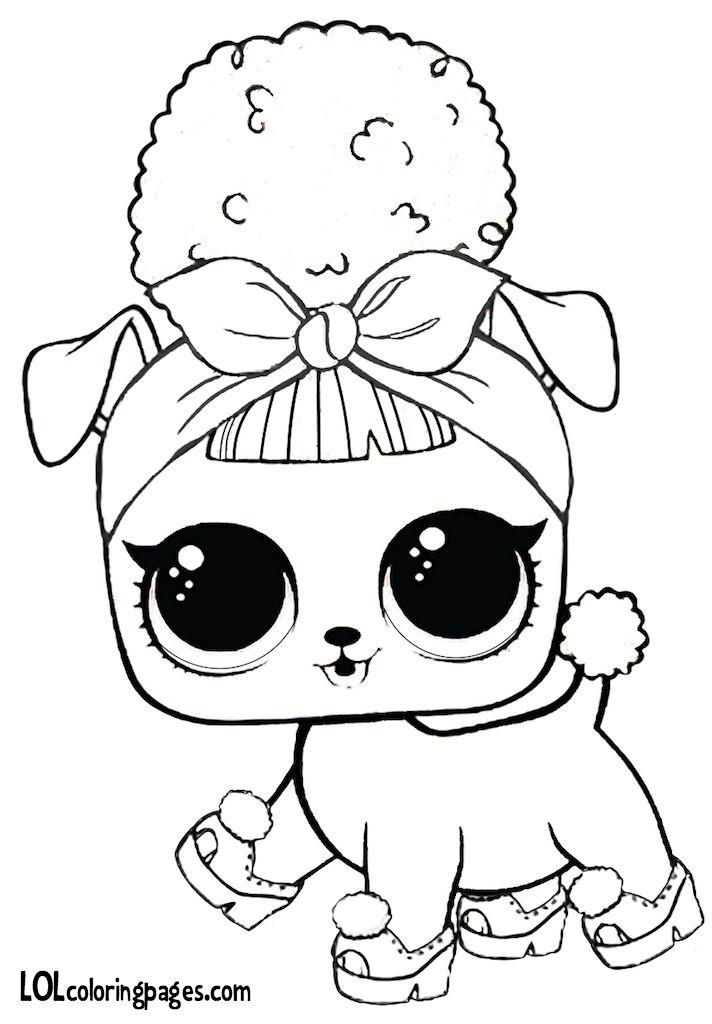 Kitty Queen Lol Doll Draw