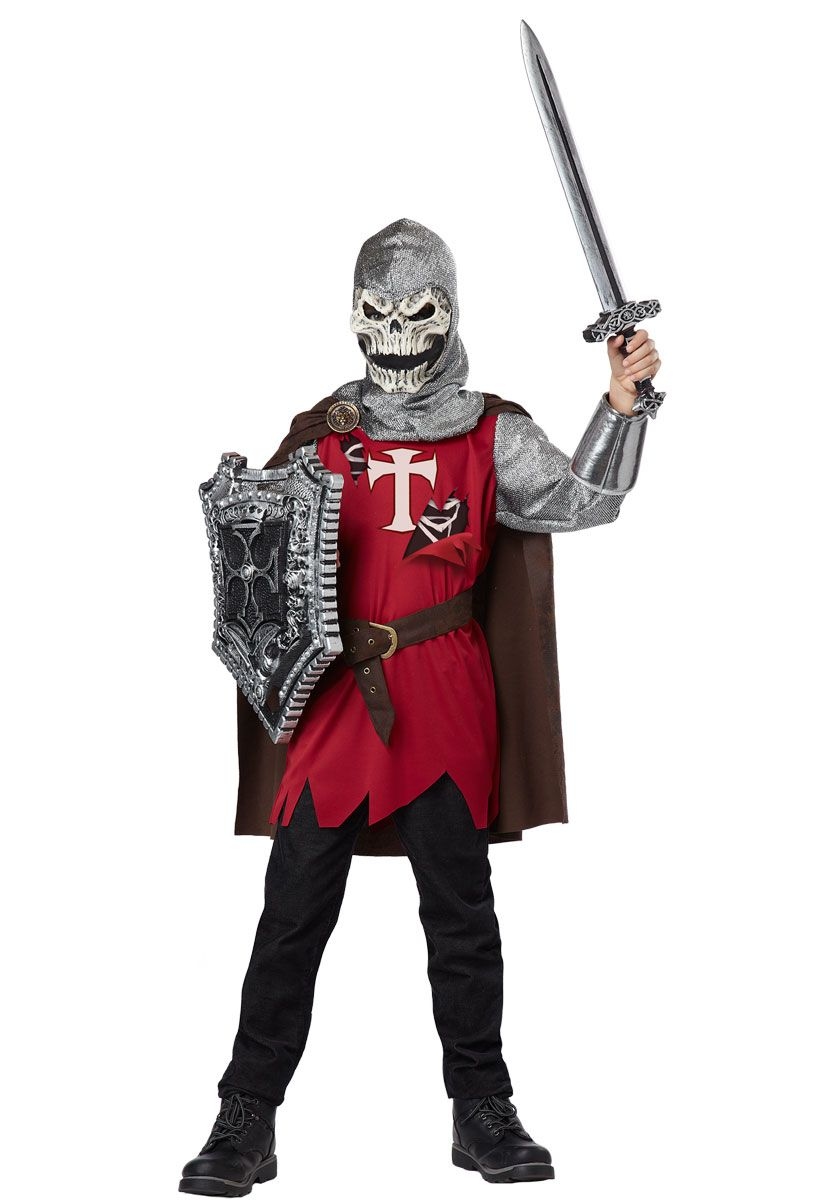 Brand New Classic Valiant Knight Child Costume