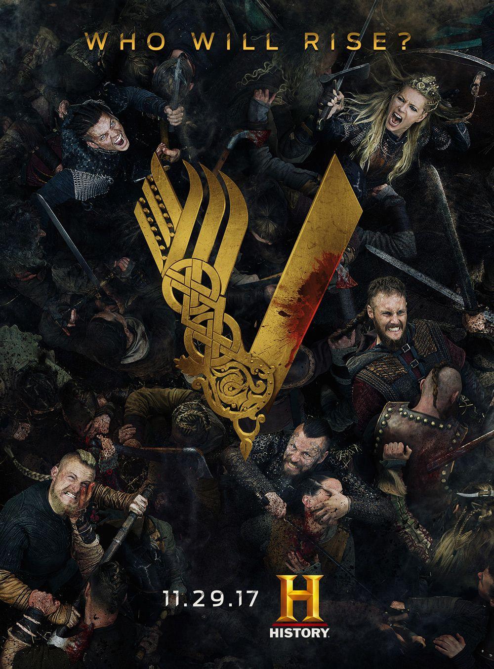Vikings Season 5 Key Art Jpg 625 847 Vikings Guerreiro Viking