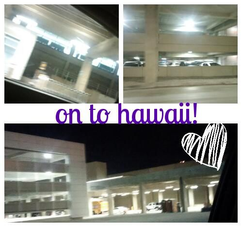 I'm at the airport!! <3