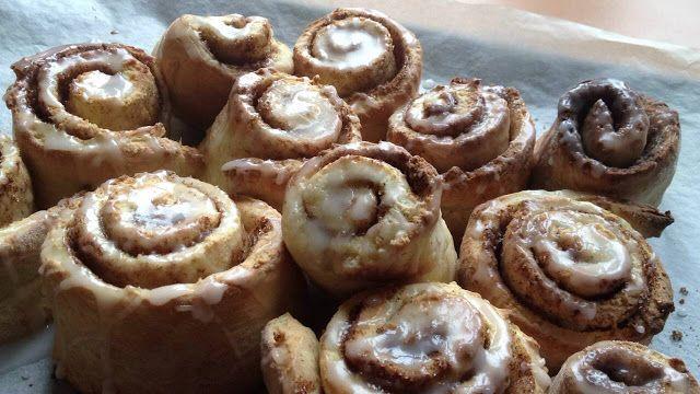 Recettes d'une mère de famille nombreuse: Cinnamon rolls  rapides / roulés à la cannelle